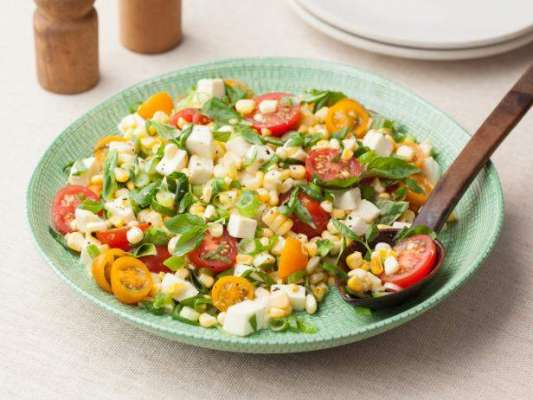 Corn Tomato Salad Recipe In Urdu