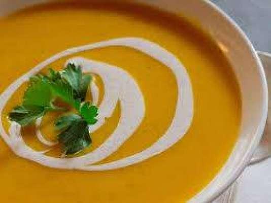 Pumpkin Creamy Soup Recipe In Urdu