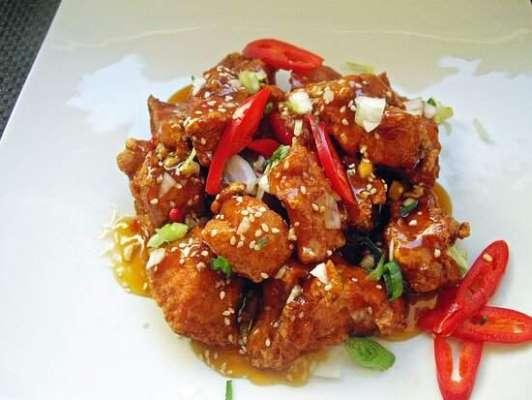 Pink Chicken Masala Recipe In Urdu