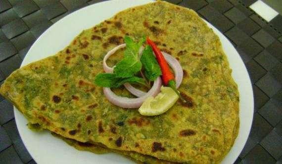 Pudina Ka Paratha Recipe In Urdu