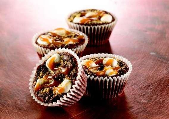 Caramel Brownie Bites Recipe In Urdu