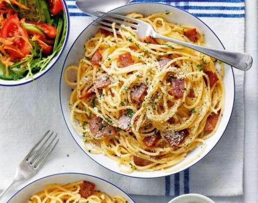 Spaghetti Carbonara Recipe In Urdu