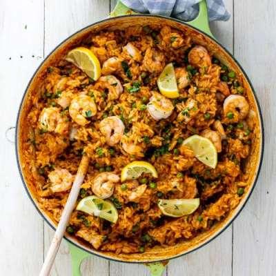 Shrimps Rice Recipe In Urdu