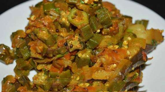 Ladyfingers Or Eggplant Ki Sabzi Recipe In Urdu