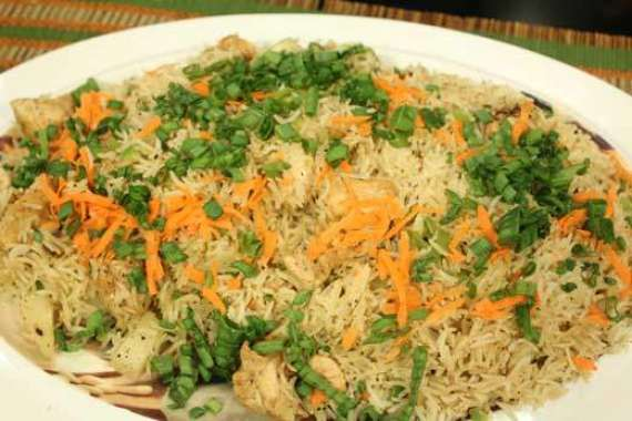 Haray Bharay Chawal Recipe In Urdu