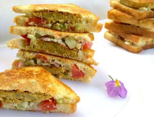 Mini Kabab Sandwich Recipe In Urdu