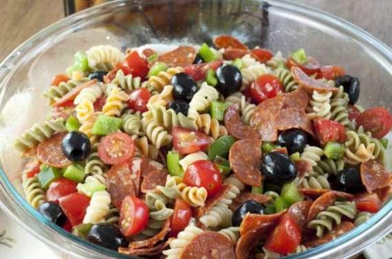 Pepperoni Pasta Salad Recipe In Urdu