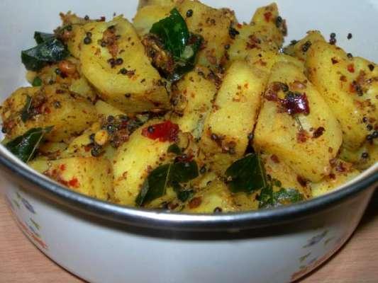 Kache Keele Ki Sabzi Recipe In Urdu
