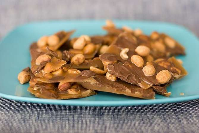 Moongphali Ki Toffee Recipe In Urdu