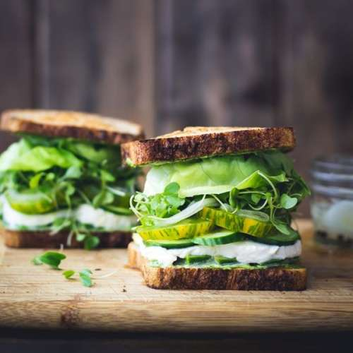 Green sandwiches Recipe In Urdu