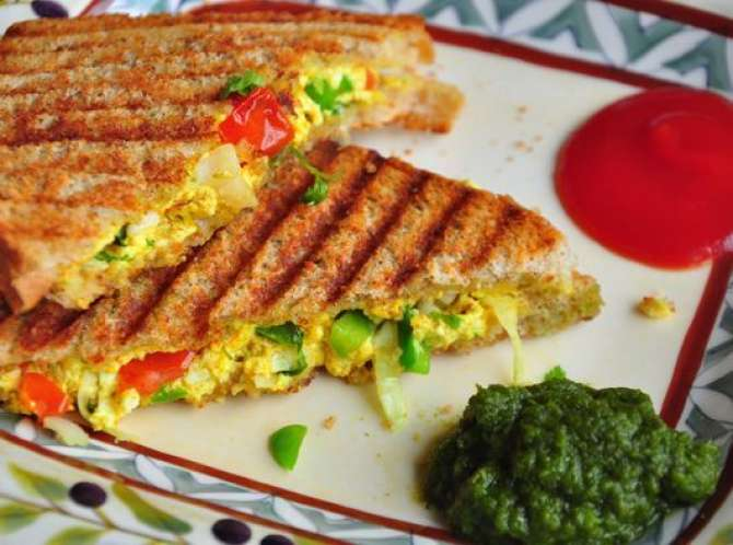 paneer sandwich Recipe In Urdu