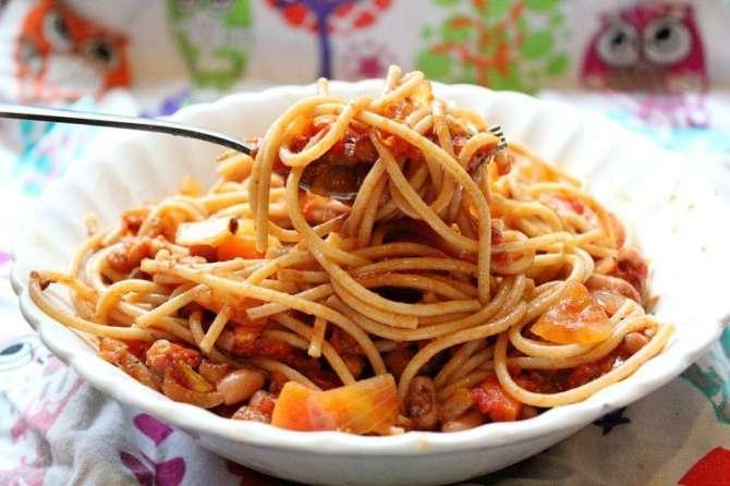 Rangeen chawal aur spaghetti Recipe In Urdu