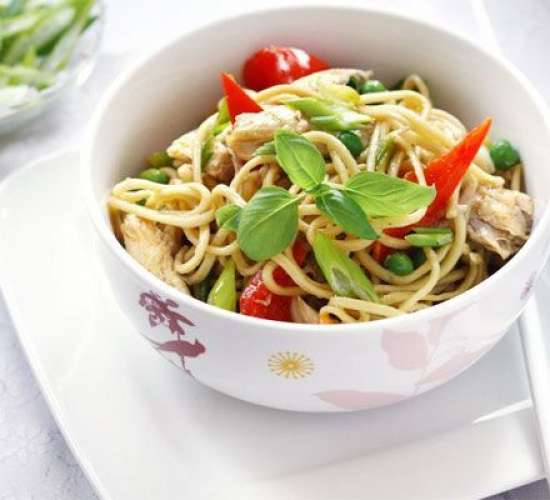 Chicken noodles Recipe In Urdu