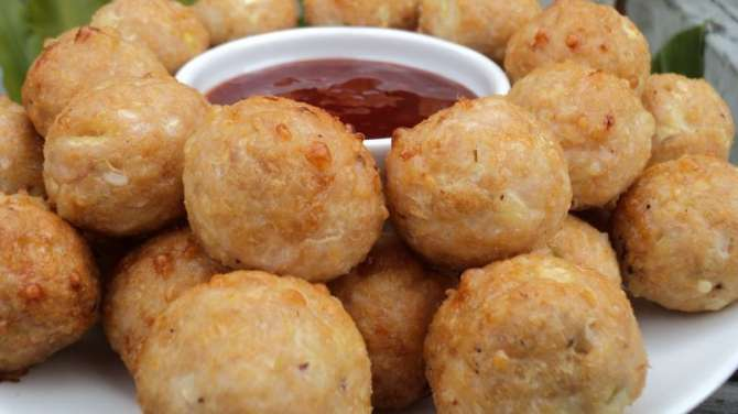 Chicken ball Recipe In Urdu