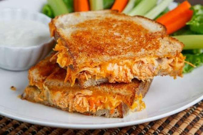 Cheese chicken sandwich Recipe In Urdu