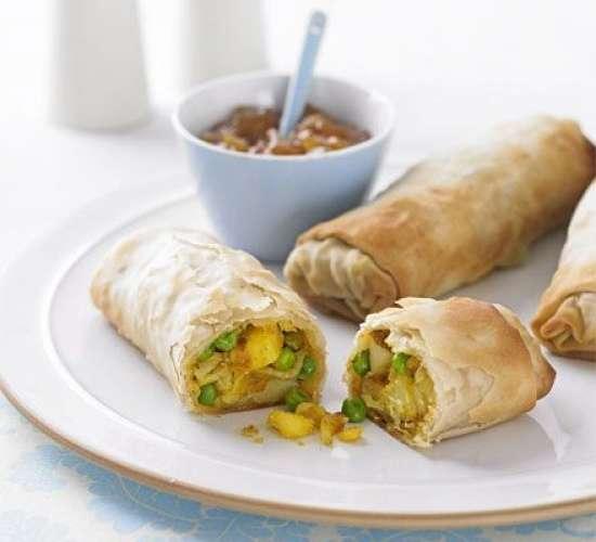 keema bharay aloo kay roll Recipe In Urdu