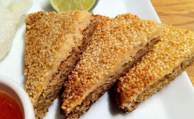 chicken toast Recipe In Urdu