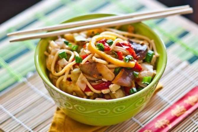 veggie noodles Recipe In Urdu