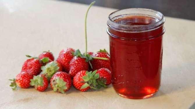 strawberry jelly Recipe In Urdu