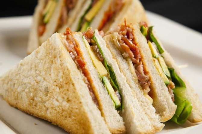club sandwich Recipe In Urdu