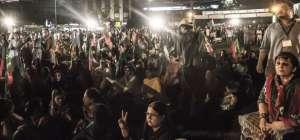 PTI Dharna in Lahore and Karachi