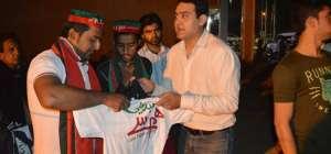PTI Dharna at Lalik Jaan chown Lahore
