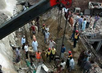 Mosque Roof Collapse In Lahore Claims Dozens Of Lives