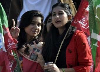 PTI Islamabad Jalsa - 30th November 2014