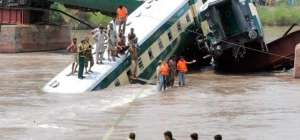 Gujranwala Army Train Accident