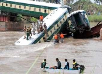 Gujranwala Army Train Accident