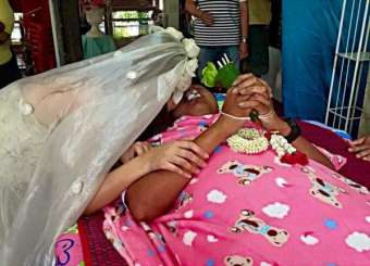 Thai Girl Marries To Dead Fiance