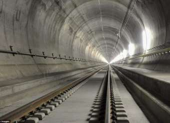 World's Longest Railway Tunnel To Open After 17 Years Of Construction