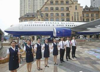 """""""Restaurant Converted From Boeing 737 Open In China"""""""