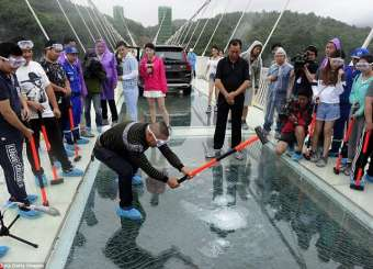 Longest And Highest Glass Bridge