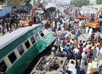 Karachi Train Accident