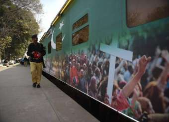Pakistan Railways Launches A Special 'Santa Train'