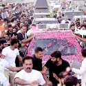 Nawaz Sharif Islama To Lahore Rally 4th Day's Pictures