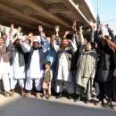 Pakistanies Large Scale Protest Arranged In Pakistan ..