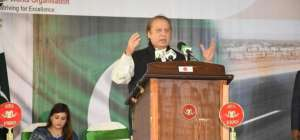 PM Nawaz inaugurated M9 project