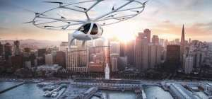 New photos of Dubai's flying taxis