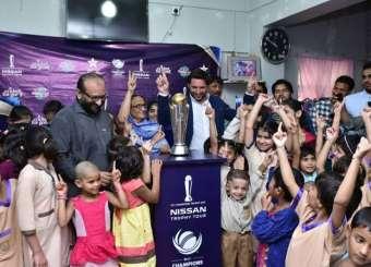 ICC Champions Trophy Reaches Karachi