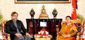 PM Shahid Khaqan Abbasi during his visit to Nepal