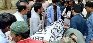 ہزار گنجی سبزی منڈی میں خود کش حملہ
