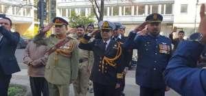 یوم پاکستان کے حوالے سے سفارت خانہ پاکستان برلن میں پرچم کشائی کی پروقار تقریب منعقد ہوئی