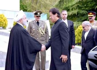 Prime Minister Imran Khan Visits Iran