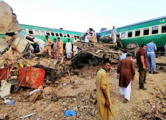 Sadiqabad Train Accident