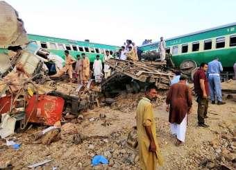 Sadiqabad Train Accident