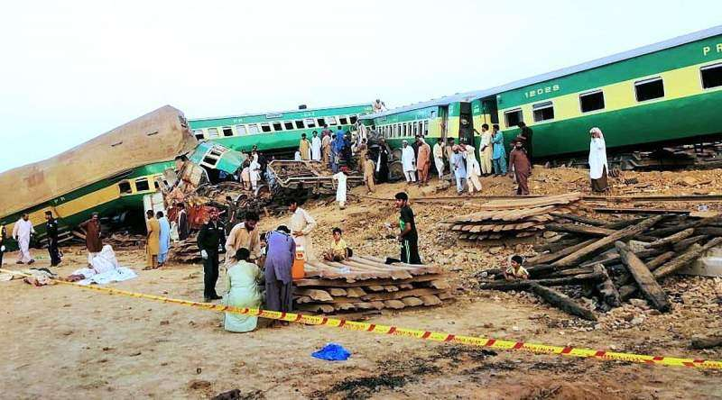 Sadiqabad Train Accident - Photo 2 of 7 - Photo Gallery & News