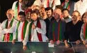 Imran Khan ki team ka kara imthehaan