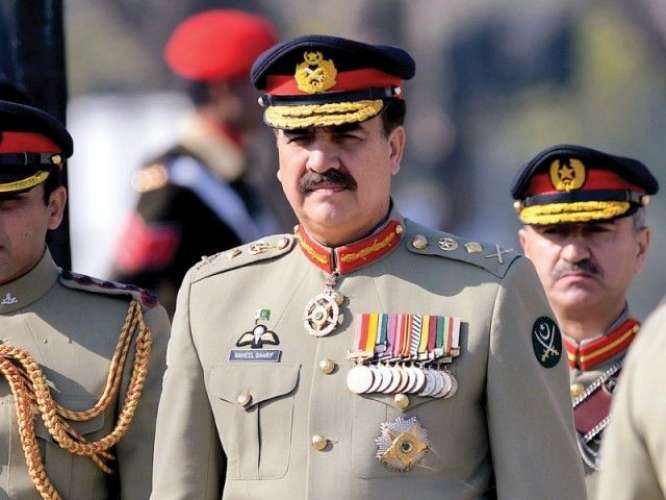 Army Chief General Raheel Sharif